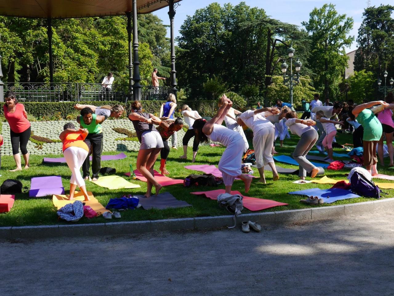 Journée internationale du yoga ( Grand Rond )